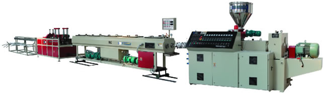 PVC Double Pipe Extrusion Line(φ16-φ63)
