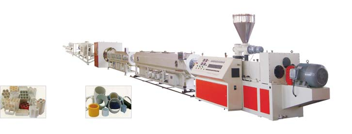 PVC Pipe Extrusion Line (φ16-φ630)