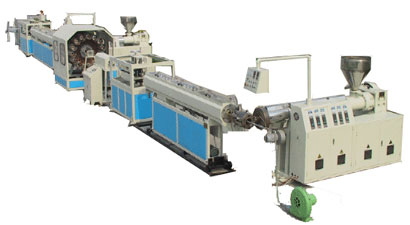 Fiber Reinforced PVC Pipe Extrusion Line