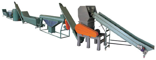 PET BOTTLE FLAKES RECYCLING WASHING&CLEANING EQUIPMENT