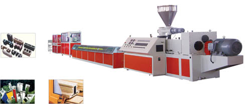PVC WINDOW & DOOR PROFILE PRODUCTION LINE