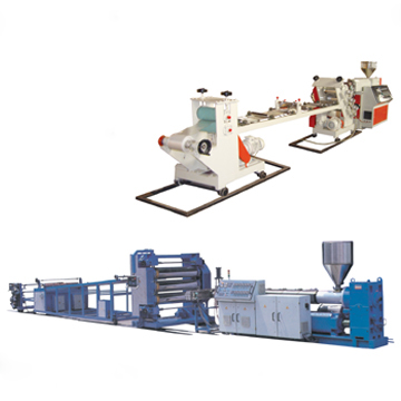 PVC/PE/PP/PET Sheet Extrusion Line