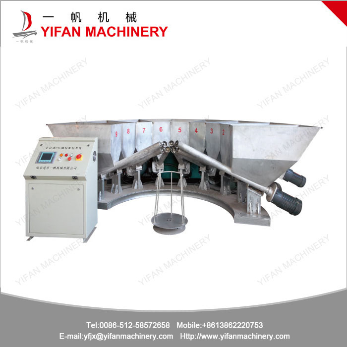 PVC Additives Automatic Compounding System