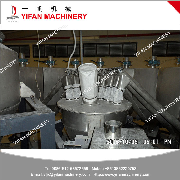 Powder conveying system